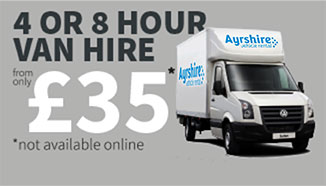 4 or 8 hour vehicle rental